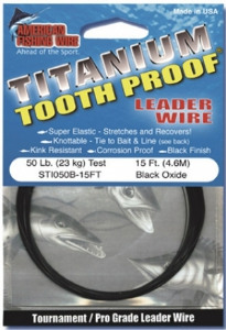 AFW Ti Tooth Proof Coil 15ft