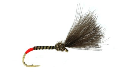 Fario Fly Barbless Hot Butt Yellow Owl