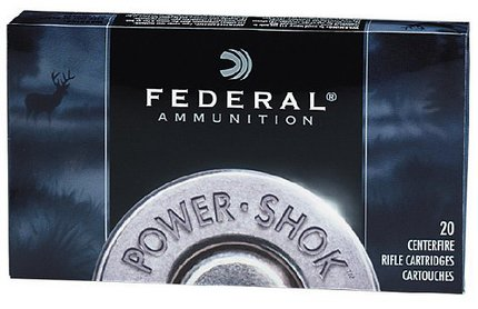 Federal Premium Ammunition Power Shok .222 Rem 50g X 20