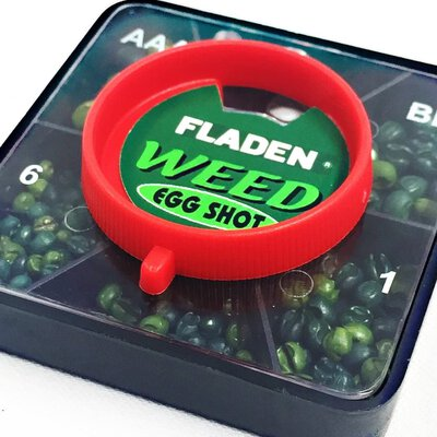 Fladen 1 Box Weed Coloured Egg Shot 5 Division: AAA, BB, 1, 4 & 6