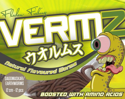 Fladen VERMZ Scented Worms