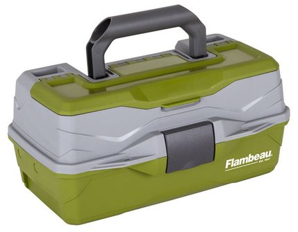 Flambeau 1-Tray Classic Box With Flip Lid