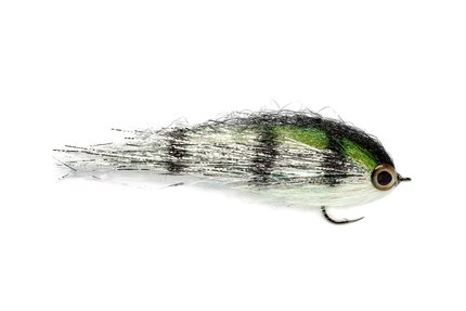 Fulling Mill Clydesdale Silver Perch Pike Fly #1/0