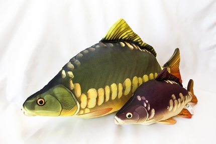 Gaby Baby Carp Fish Pillow