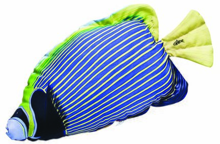 Gaby Emperor Angelfish Pillows