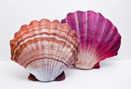 Gaby Scallop Pillows