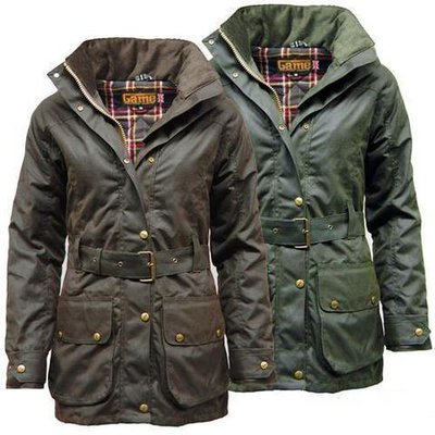 Game Women's Cantrell Padded Antique Waxed Jacket