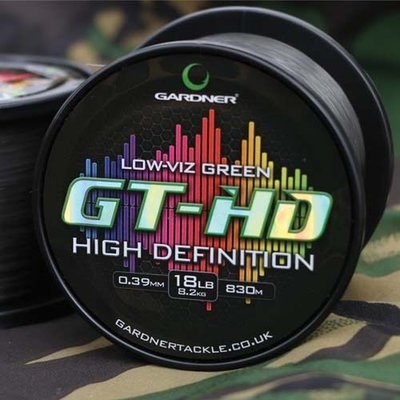 Gardner GT-HD Low Vis Green Mainline Line