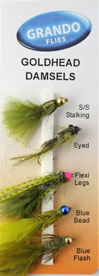 Grando Flies Goldhead Damsels