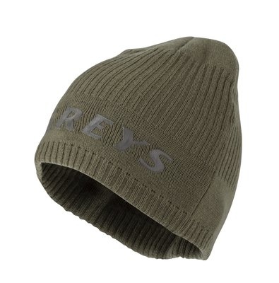 Greys Cotton Beanie - Strata Green