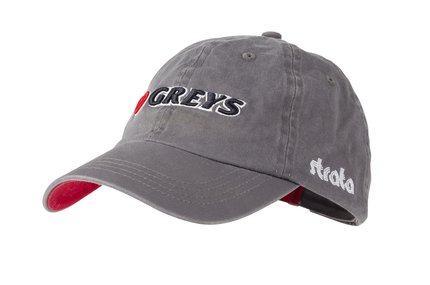 Greys Fin 3D Logo Cap - Grey