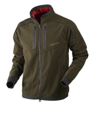 Harkila Lynx Reversible HSP Jacket Willow Green/AXIS MSP Red Blaze
