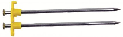 Highlander Steel Rock Peg 18cm Loose 50 Pack