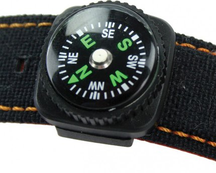 Highlander Watch Strap Compass