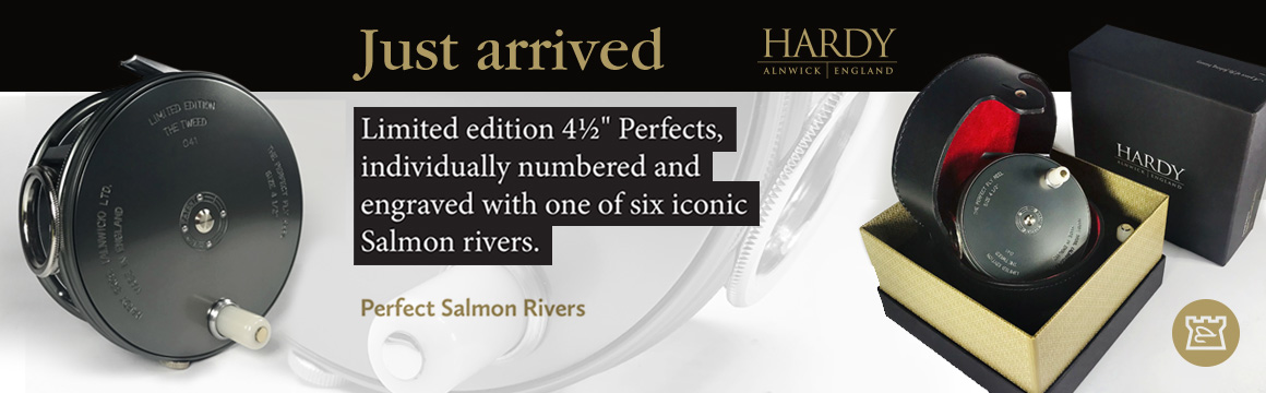 hardy perfect salmon river ltd editions perfect 45in salmon reels