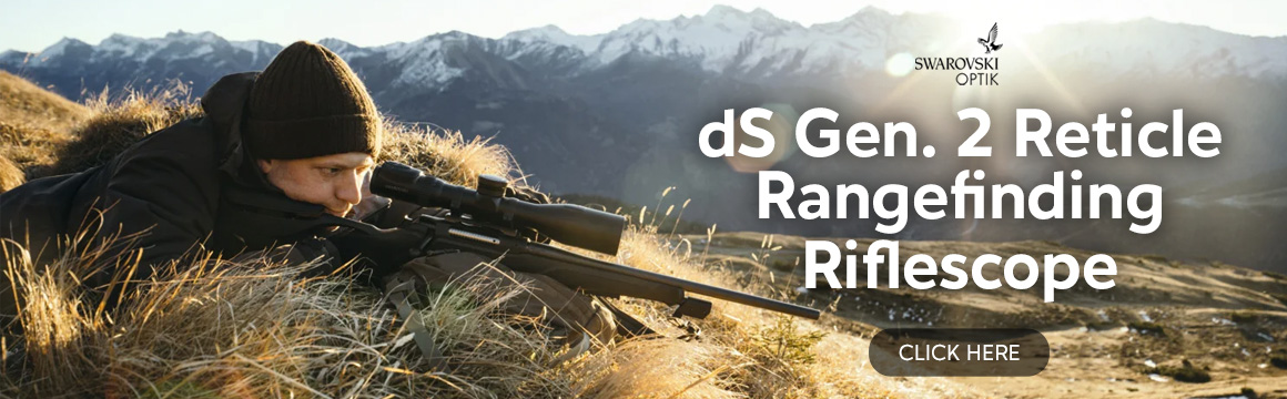 swarovski ds gen ii reticle rangefinding riflescope