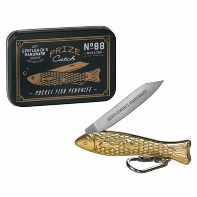 Just Fish Gentlemen's Hardware Pen Knife Brass