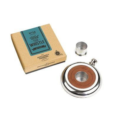 Gentlemen's Hardware Wet Your Whistle Hip Flask