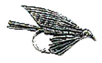 Just Fish Pewter Trout Fly Lapel Pin