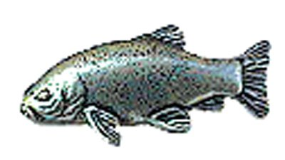 Just Fish Pewter Lapel Pin Tench