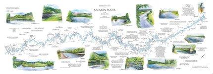 Fishing Maps Scottish River Map Spey