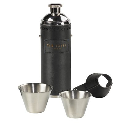 Ted Baker Hip Flask & Cups
