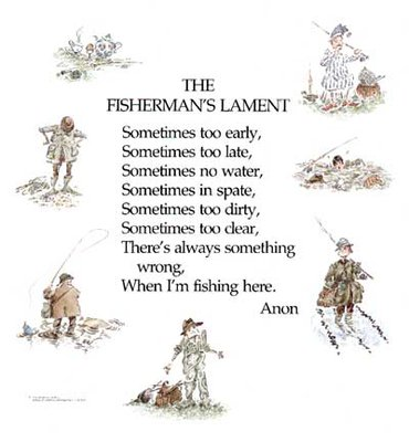 Fishing Maps Fishermans Lament
