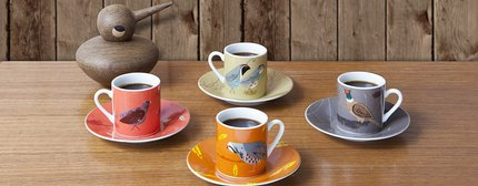 Just Fish Game Birdy Espresso Set