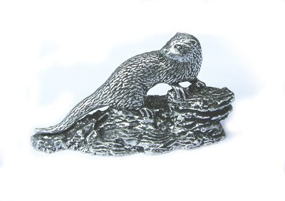 Just Fish Otter Statuette