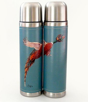 Just Fish Pheasant Bryn Parry Vacuum Flask