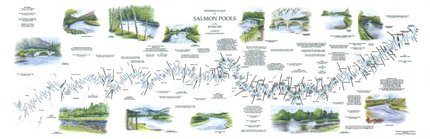 Fishing Maps Scottish River Maps Tweed