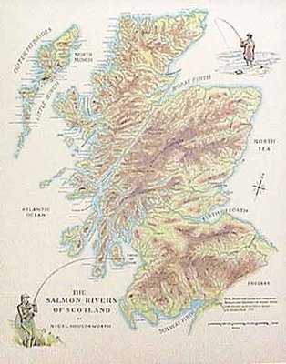 Fishing Maps Scottish Salmon Rivers
