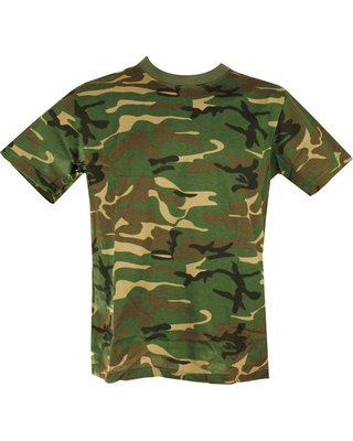 Kombat Cotton Tee Shirt DPM Camo