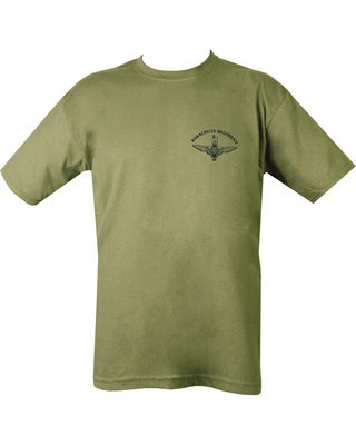 Kombat Parachute Regiment Tee Shirt Double Sided