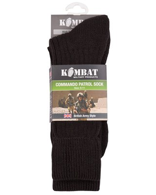 Kombat Patrol Socks UK Size 6-11