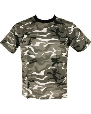 Kombat Cotton Tee Shirt Urban Camo