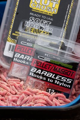 Korum CS Barbless HTN Pellet/Maggot