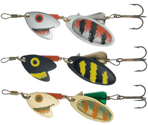Mepps tandem trout lures glasgow angling centre for Mepps fishing lures