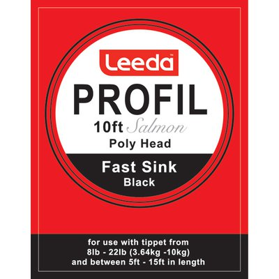 Leeda Profil Polyhead Salmon 10ft Tapered Leaders