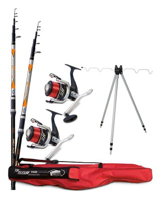 Lineaeffe Top Tele Surf 2 Rod Deluxe Combo