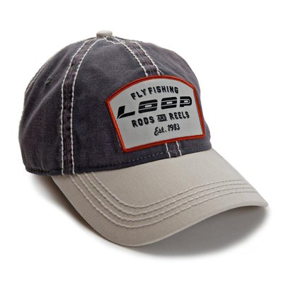 Loop Rods & Reels Cap Charcoal/Stone