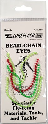 Lureflash Pearl Bead Chain Eyes