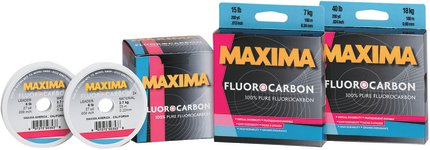 Maxima One Shot Fluorocarbon 180m