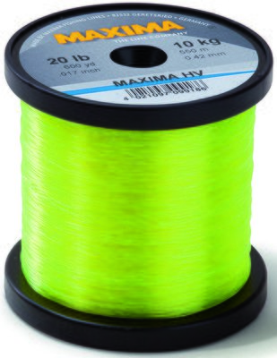 Maxima High Viz Yellow Monofilament