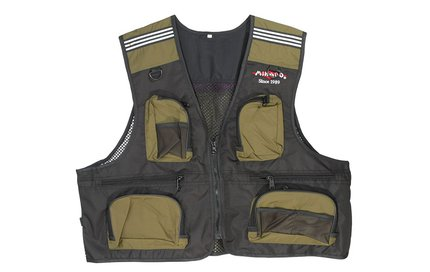 Mikado A02 Fishing Vest - Medium