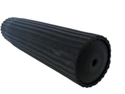 Mjoelner Silencer Cover Silicone Black Cut to Length 300mm/40-55mm Dia