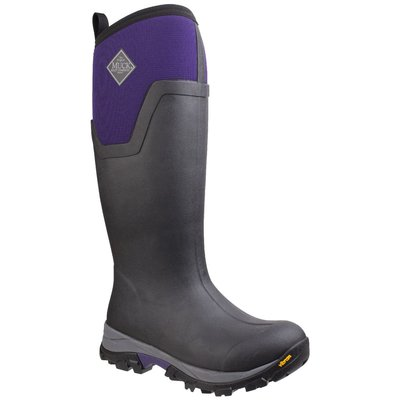 Muck Boots Women's Arctic Ice Tall Extreme Conditions Sport Boot Black/Parachute Purple