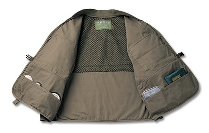 Orvis Clearwater Vest Tan Glasgow Angling Centre