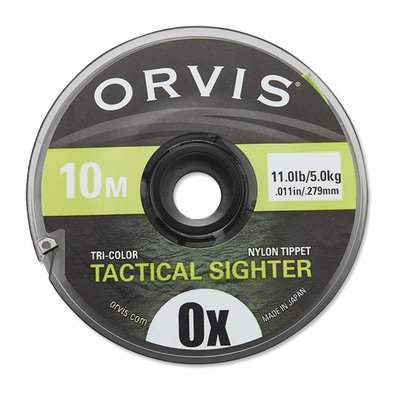 Orvis Tactical Sighter Tippet Char/Multi 0X