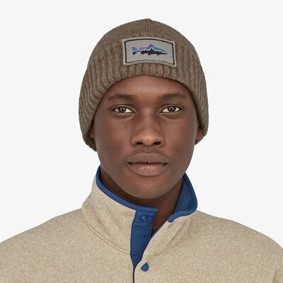 Patagonia Brodeo Beanie Fitz Roy Trout Patch
